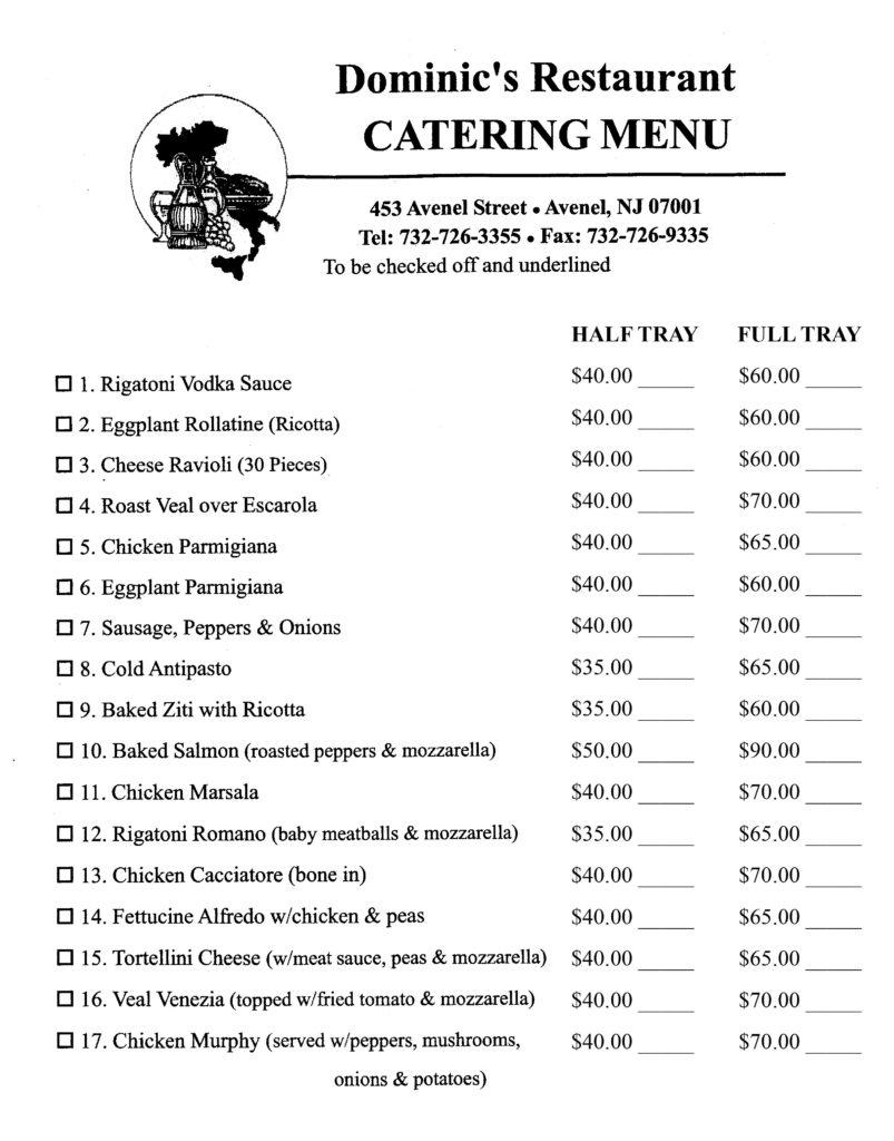 Italian food in woodbridge, byob restaurant in woodbridge nj
